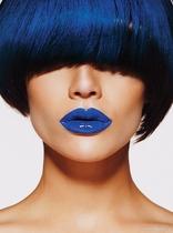 синие губы фото