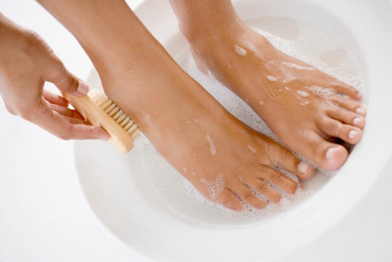 Правила гигиены при грибке ногтей ног