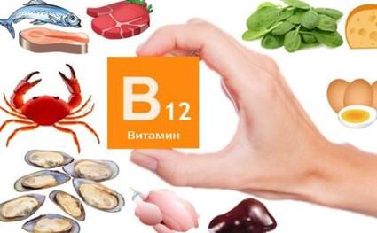 Признаки нехватки витамина В12