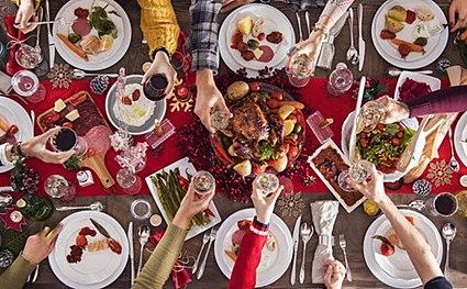 Как отпразновать праздники, чтобы не поправиться